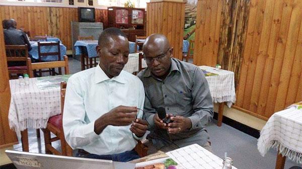 Local recording in DRC and Rwanda